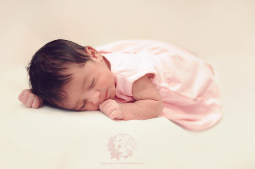 "Baby girl ""W"" 