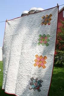 Flea Market Fancy Granny Squares Back | by Erin @ Why Not Sew? Quilts