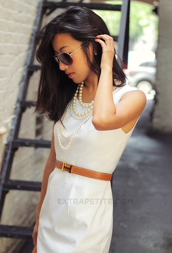 whitedress | by ExtraPetite.com