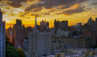 Village Sunset Panorama - July 9, 2012 | by Michael.Lee.Pics.NYC