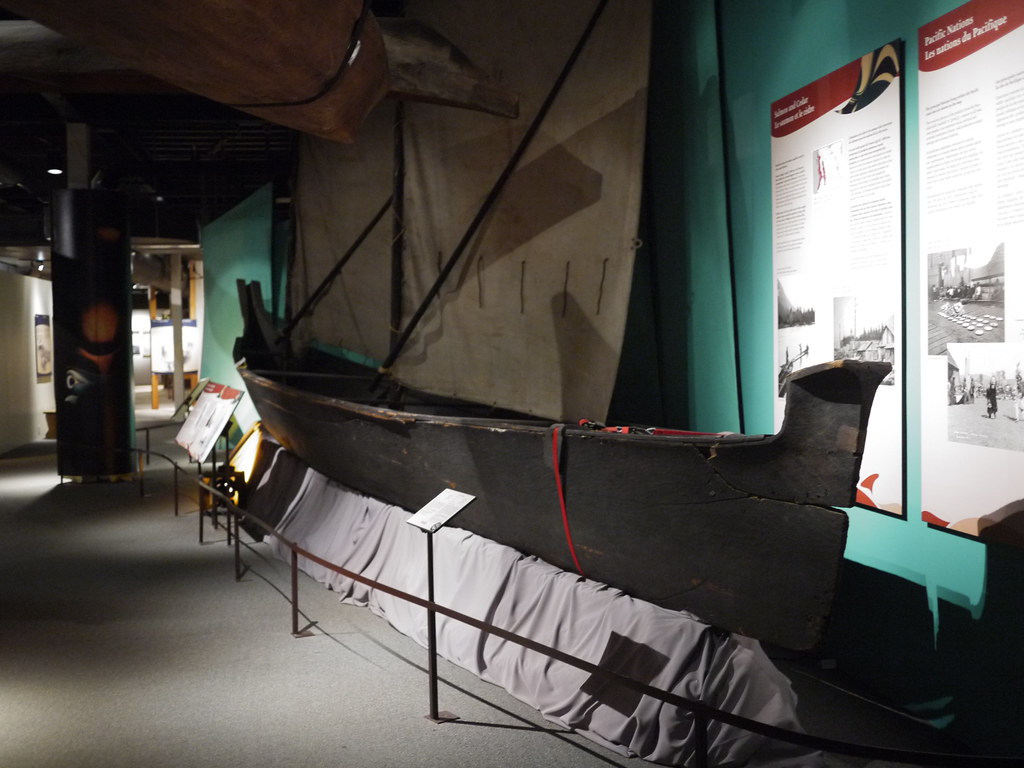 Nuu Chah Nulth Whaling Canoe Canadian Museum Flickr F1 By Tfm