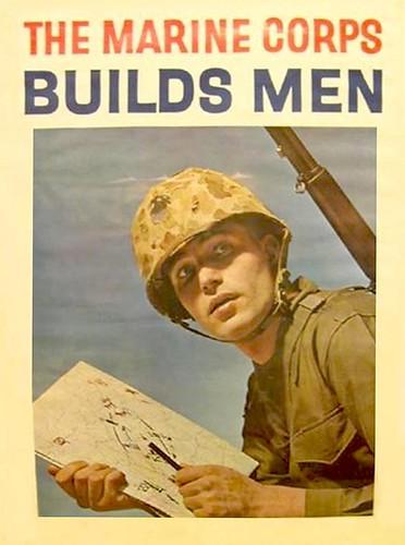 vintage sunday  marine corps builds men