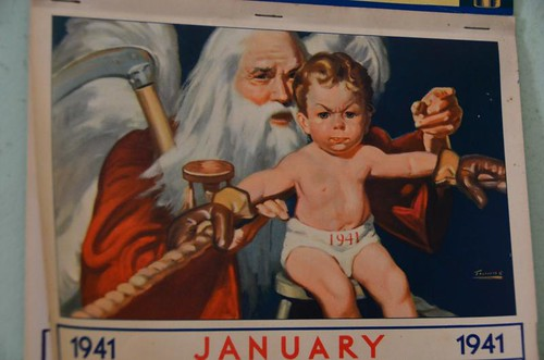 Father Time and the Baby New Year | by Marcy Talks with Hands