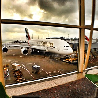 Never seem so many planes sitting in our airport, A380 | by Patrick Ng