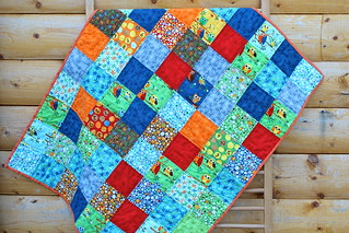 Ten Little Things Baby Quilt | by CoraQuilts~Carla