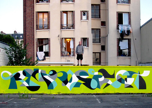 Paris, France : Longhand Long Bomb. | by MWM Graphics
