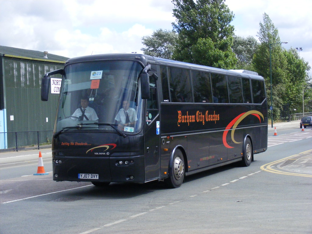 Durham City Coaches Ltd Yj07dvy Great Central Way Flickr