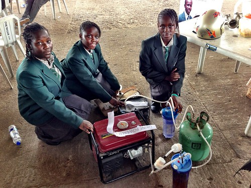 A urine powered generator | by whiteafrican