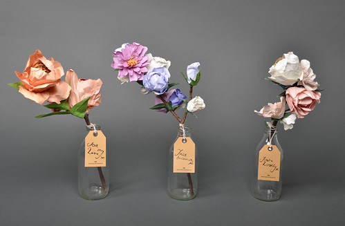 Paper Flowers by Helen Frances | by decor8