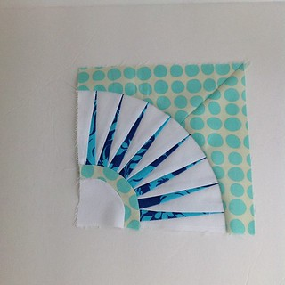 First time paper piecing! Love it. | by amylouwhosews