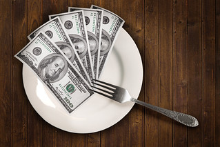 Dollars on a plate | by Tax Credits