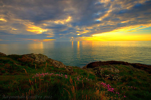 Porth Dinllaen Sunset | by raymondo.gwelfro