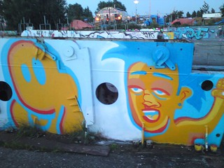 - EUGENE AND ARTWORKINGCLASS IN NDSM - | by - LN in NL -