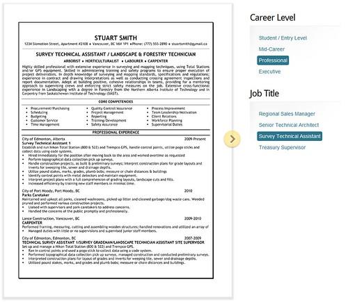 resume service toronto