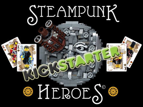 Steampunk Heroes is LIVE on Kickstarter! | by V&A Steamworks - Guy HImber