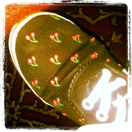 MY CHERRY VANS | by Christina Heristanidis