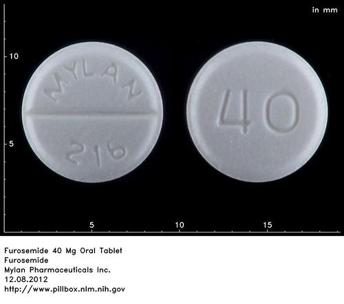 Furosemide 40 Mg Tablet Picture