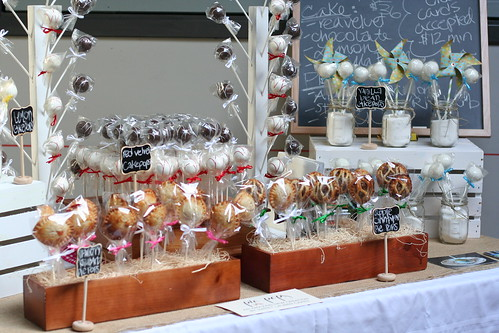 Cake and Pie Pops at the Underground Market | by Sweet Lauren Cakes
