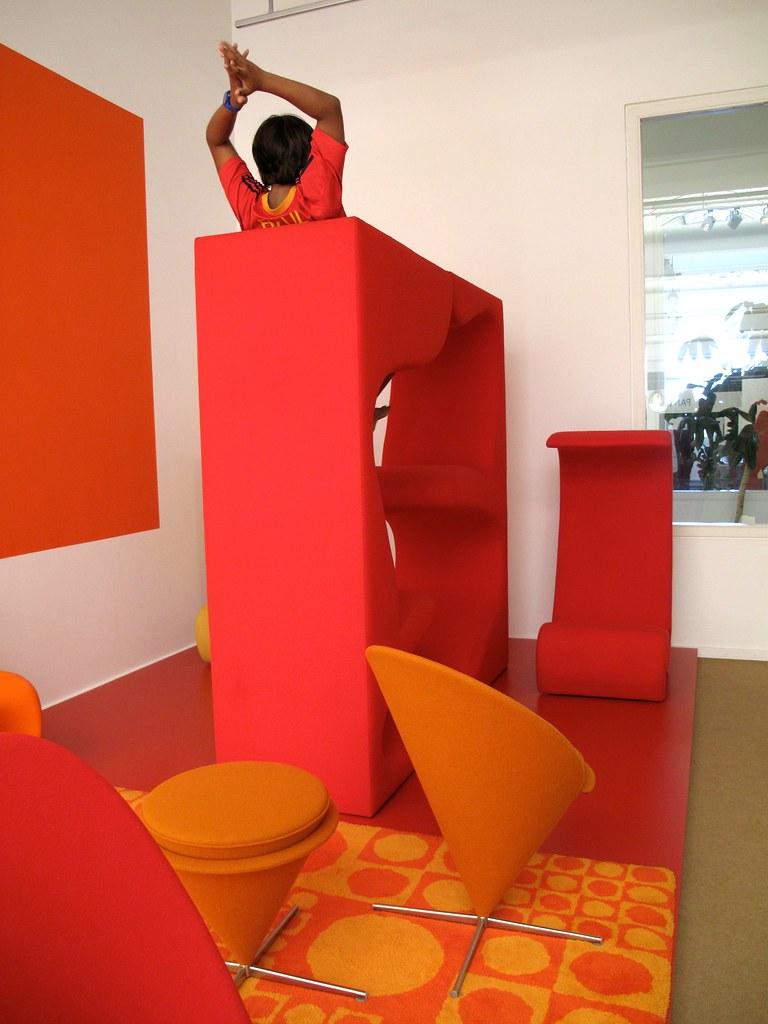 leo in verner panton s living tower tyson thorne flickr