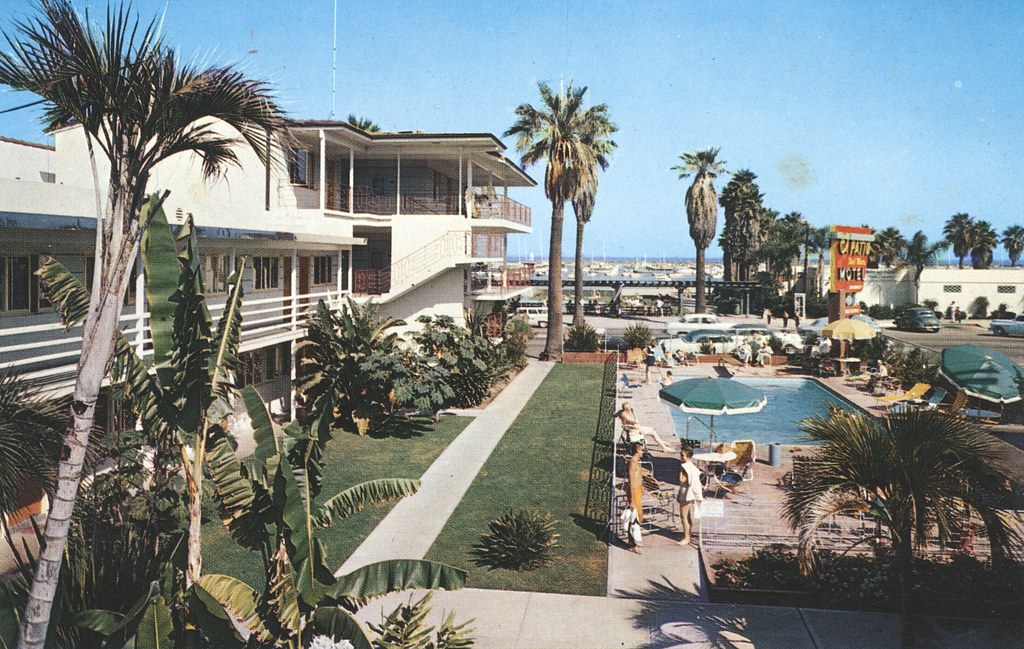 El Patio Del Mar Motel - Santa Barbara, California