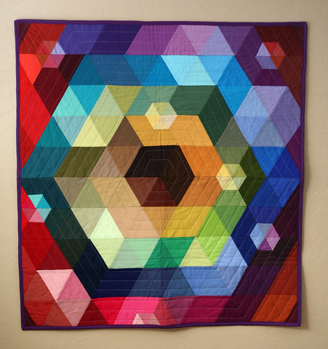 Patchwork Prism is Complete | by PileOFabric