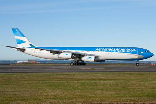 Aerolineas Argentinas Airbus A340-300 | by Nick Young Photos