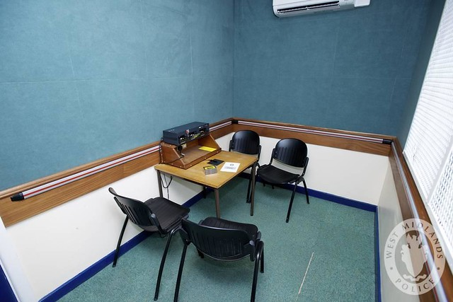 Day 188 - West Midlands Police - Custody Interview Room