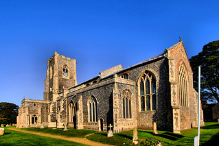 The Worstead Wool church | by JDS-photo