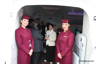 Qatar Airways Boeing 787 Dreamliner | by AirlineReporter.com