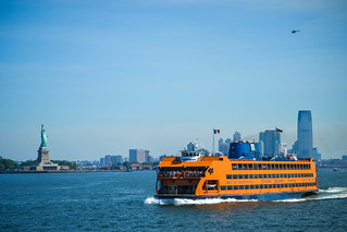 Staten Island Ferry + Statue of Liberty | by m01229