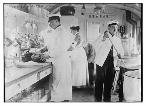 Kaiserin's Hospital Train -- kitchen  (LOC) | by The Library of Congress