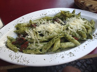 Pesto pasta | by Kai Hendry