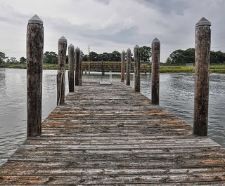 Smith Island pier | by Forsaken Fotos