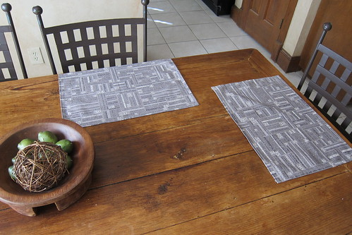 Reunion placemats | by a maiden hair fern