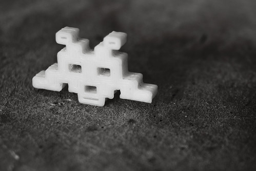 3d Printed Space Invader | by nand_
