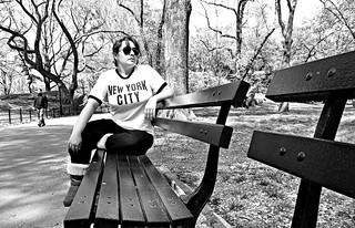 Saturday April 28th, 2012 Paying homage to John Lennon in Central Park | by *M-C1*