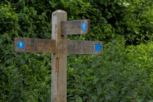 South Downs Way signpost | by Jim Mead