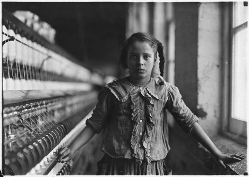 One of the spinners in Whitnel Cotton Mill, December 1908 | by The U.S. National Archives