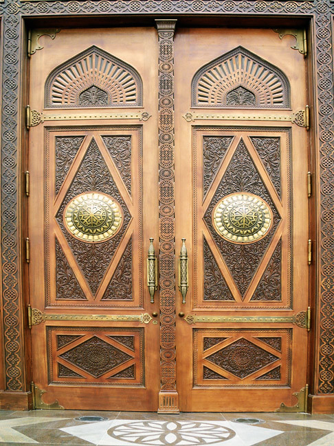... Decorated Grand Mosque Door | By Kombizz