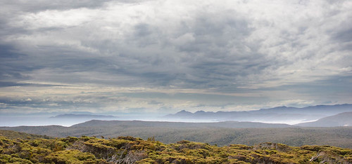 Mason Bay and The Ruggedy Range from Doughbouy Hill, Southern Circuit, Stewart Island, New Zealand | by goneforawander