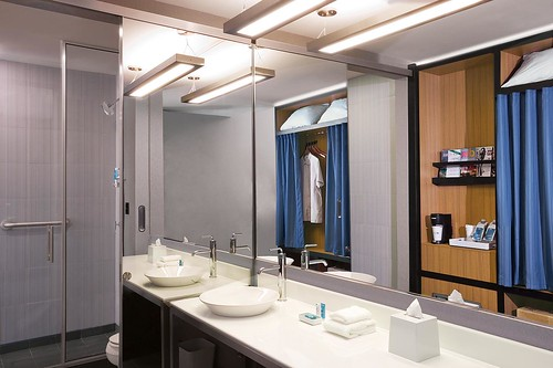 Aloft San Jose Hotel—Guest Bathroom | by Aloft Hotels and Resorts