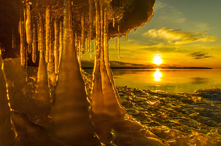 Icicles in the afternoon light | by Master Pedda http://petersamuelsson.se/