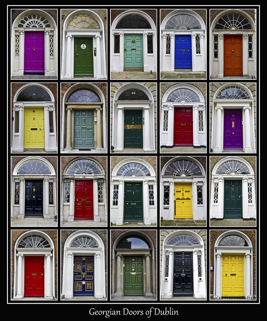 ... Georgian Doors of Dublin | by helikesto-rec  sc 1 st  Flickr & Georgian Doors of Dublin | Craig Rucks | Flickr