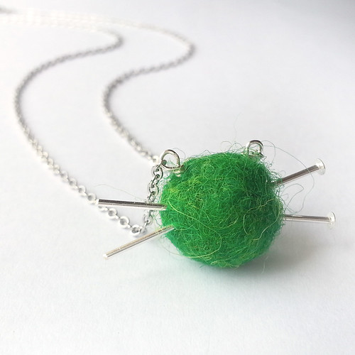 Love to Knit Necklace | by Fiore Jewellery