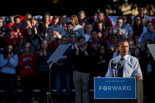 Obama & William at Ohio State-6 | by Brett Marty