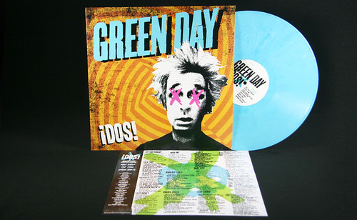 Green Day Quot Dos Quot Color Vinyl Lp Green Day Quot Dos Quot Color
