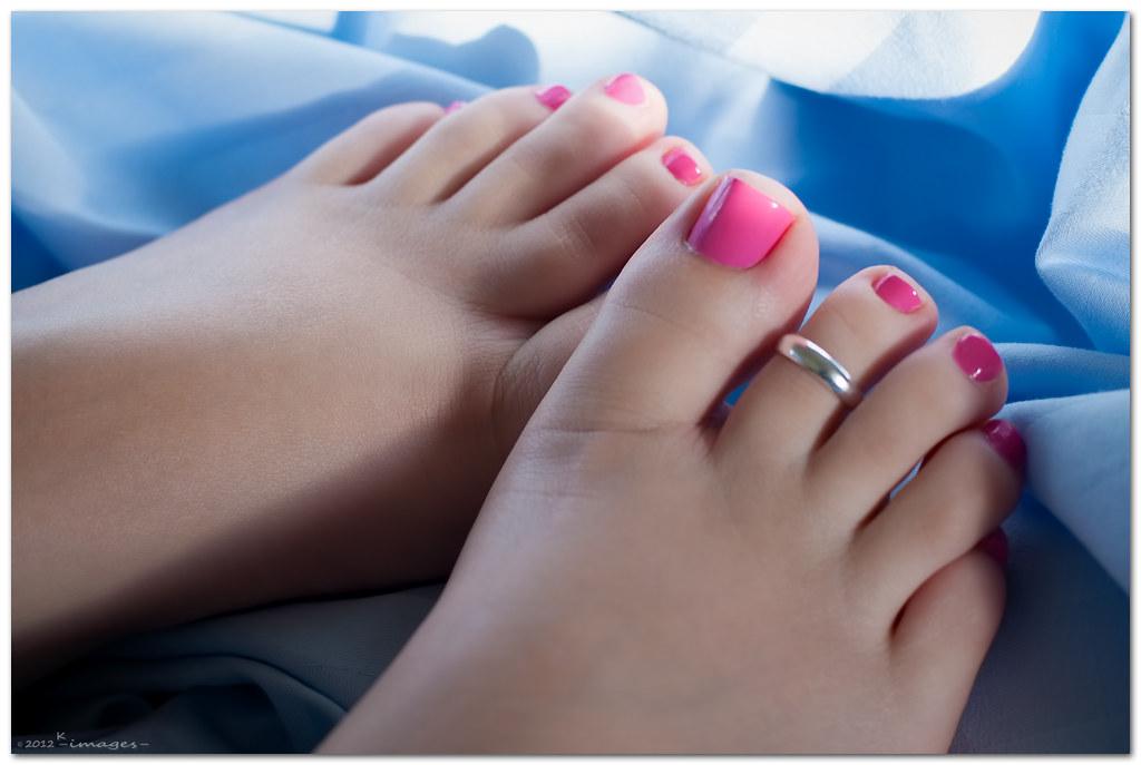Perfect toes bbw footjob