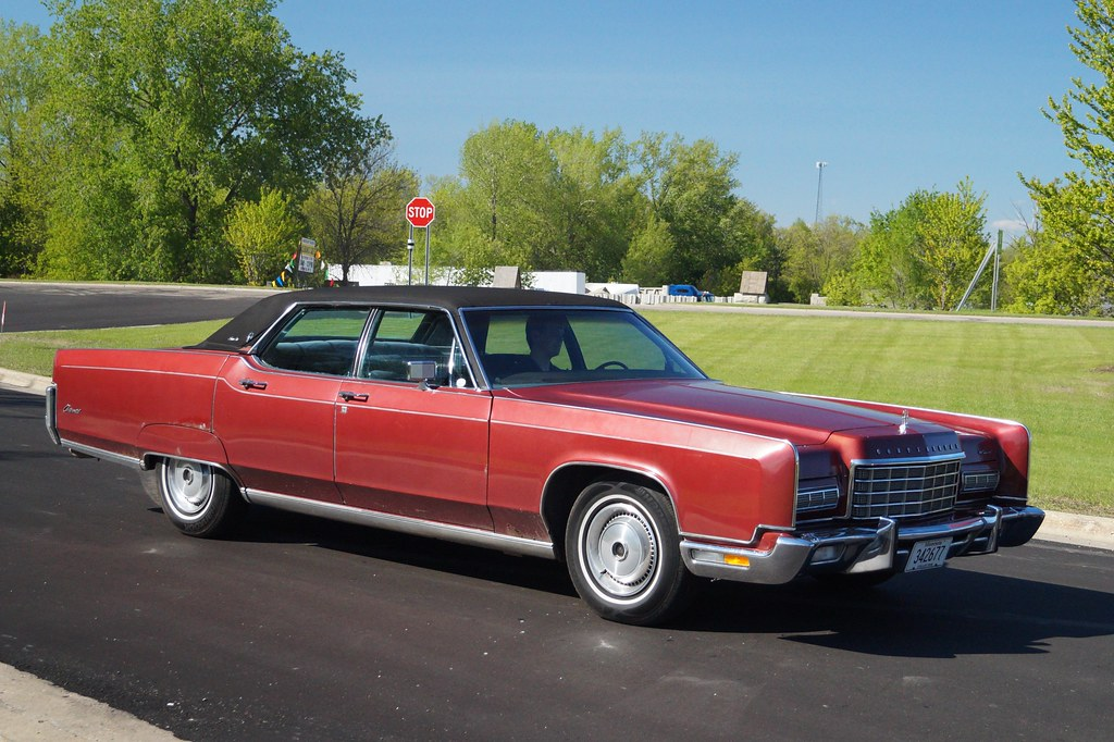 1972 Lincoln Continental Town Car Video Of Cruise Can Be V Flickr