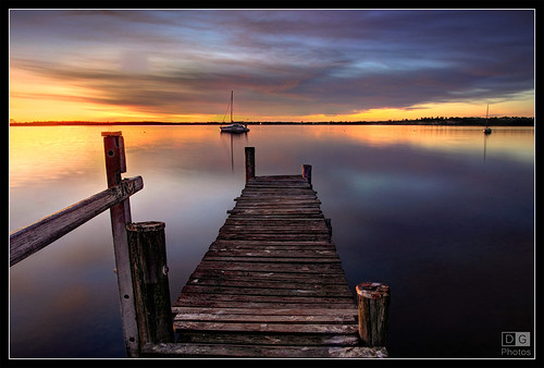 Sunrise, Georges Bay | by darreng2011