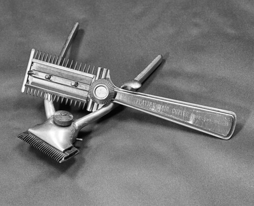 HAIR CLIPPERS VERSION #1 | by t. m. angelo _ akron,ohio